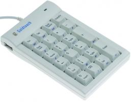 Goldtouch numeric keyboard USB White