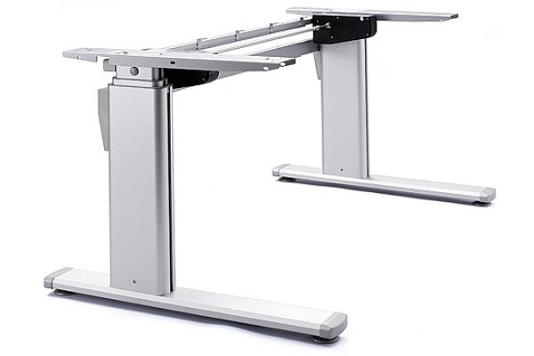 Standing desk: ErgoDesk Pro-2 (Alu), electrically adjustable in height