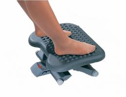 Footrest with Massage Balls, Adjustable Height
