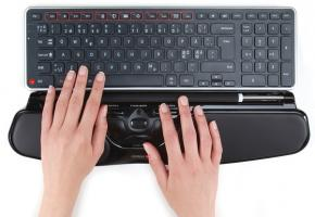 Set: Contour Rollermouse Free3 & Contour Balance wireless keyboard